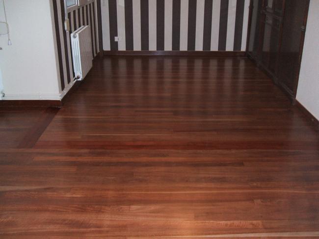 Acuchillados y barnizados nervi n suelos madera vizcaya - Suelos de madera precios ...